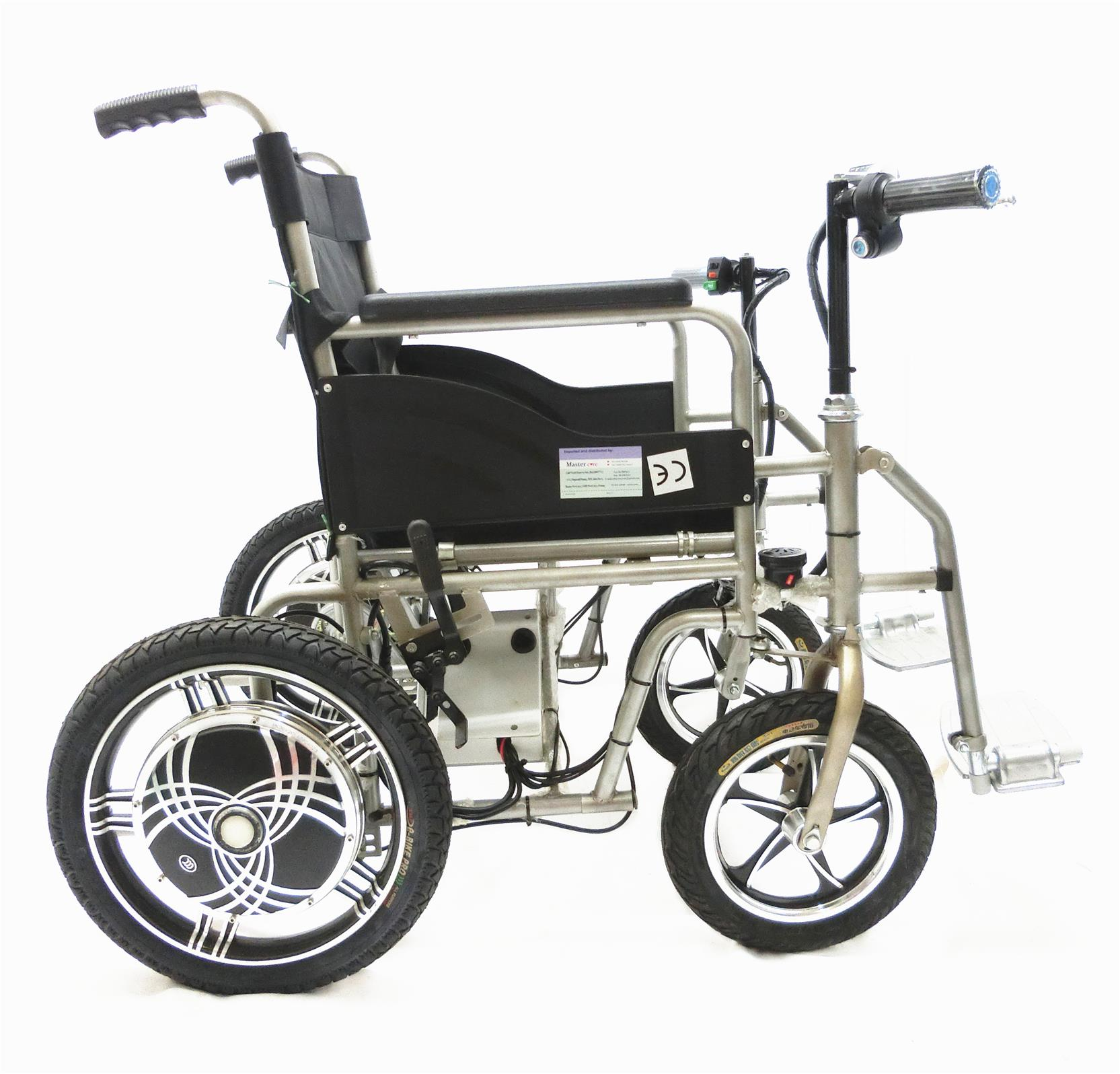 Power electric wheelchair motorised kerusi roda elektrik