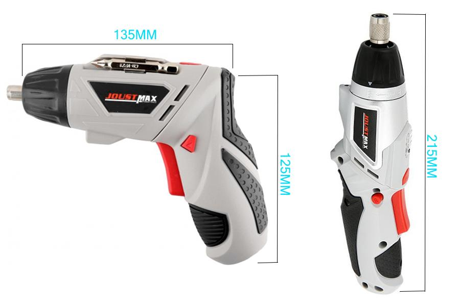 Power Tools Professional Cordless Screwdrive Rechargeable 4.8V