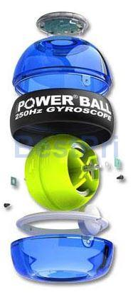 Power Wrist Gyro Ball - Tennis Badminton Backhand Arm Muscle Powerball