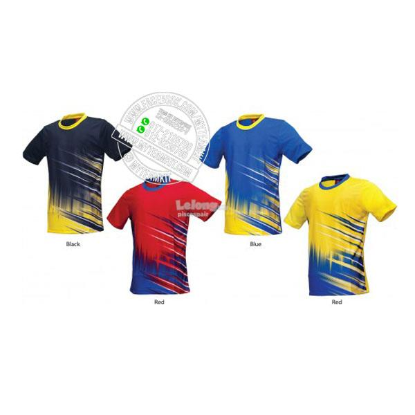 PowerAct Quick Dry Sublimation Round Neck Jersey PA7001