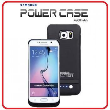 san francisco 794e0 d35c1 Powercase Samsung S6 / S6 Edge 4200mAh External Battery Back Casing