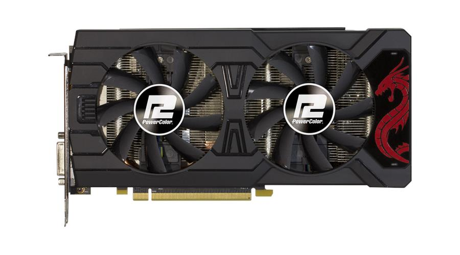 # PowerColor Red Dragon Radeon™ RX 570 4GB GDDR5 # 1250MHz