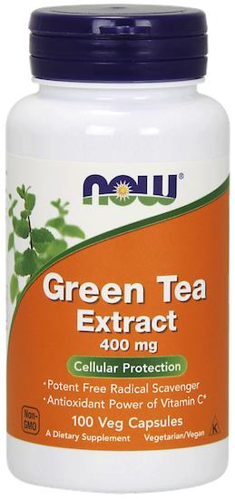 Powerful Antioxidant Free Redicals, Green Tea Extract 400mg, 100 Vcaps