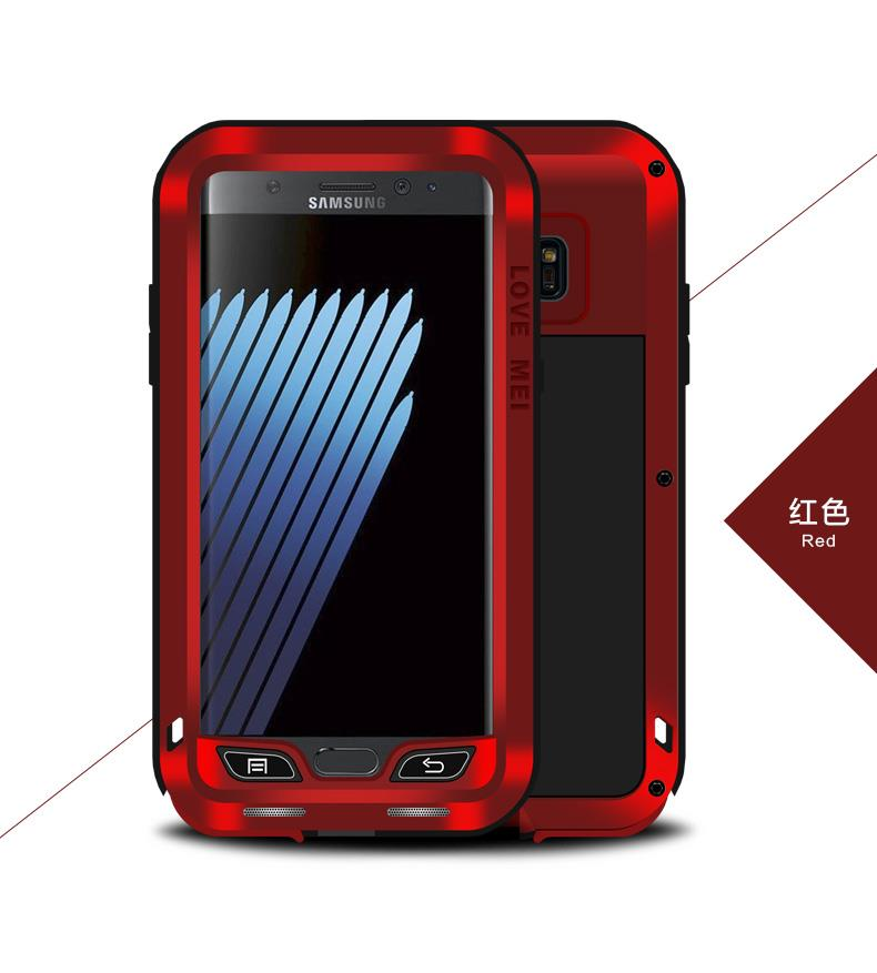 best service 40788 14bf0 POWERFUL Love Mei Metal Case Cover Casing For Samsung Galaxy Note FE