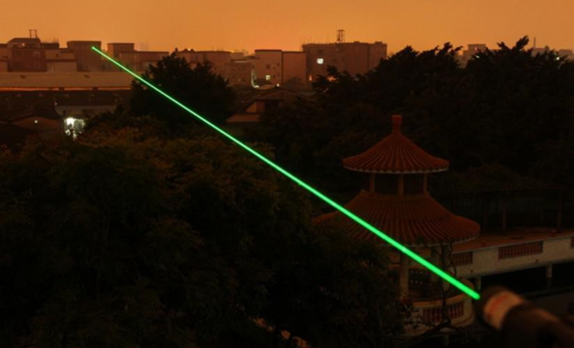 Powerful Professional Military Green Laser Lazer Pointer Pen 15600M