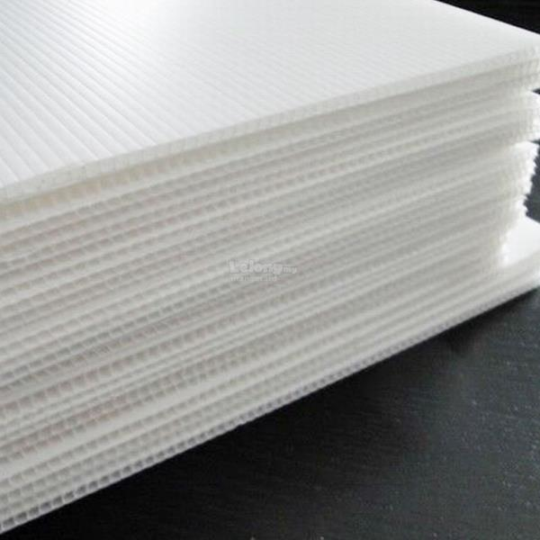 PP Board Corrugated Sheet (5mm x 4.5ft x 8ft)