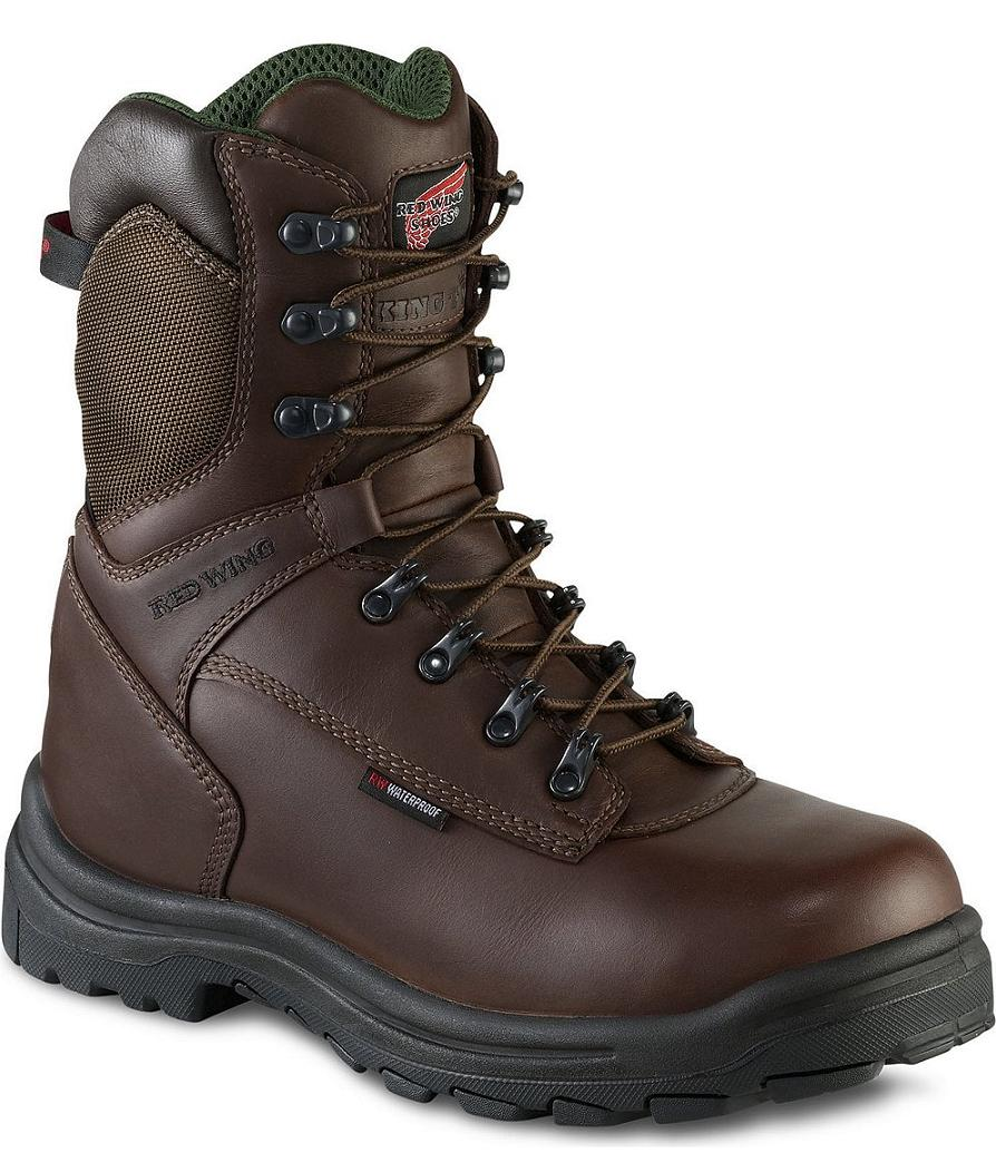 PPE Safety Shoes Red Wing Men High Cut 9Inch Black EH WP IN 447