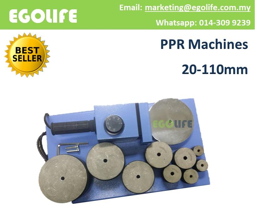 PPR Machines 20mm - 110mm Pipe Wel (end 11/28/2019 11:15 AM)
