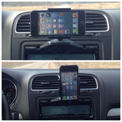 PPYPLE UNIVERSAL CD SLOT MOUNT FOR 4' - 6' SMARTPHONE (CD-N5)
