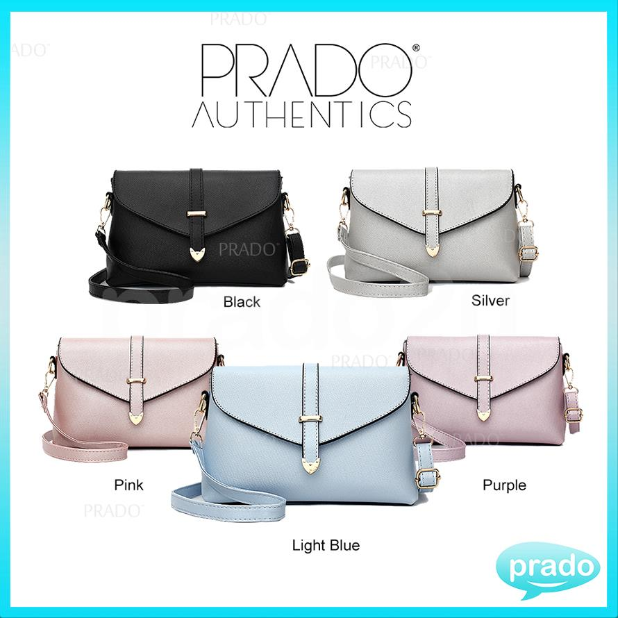 PRADO Authentics Korean Premium Leather Fashion Shopper Bag PAB1163