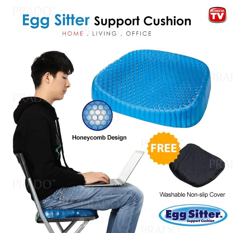 PRADO Egg Sitter Absorb Pressure Support Seat Cushion Breathable Honey