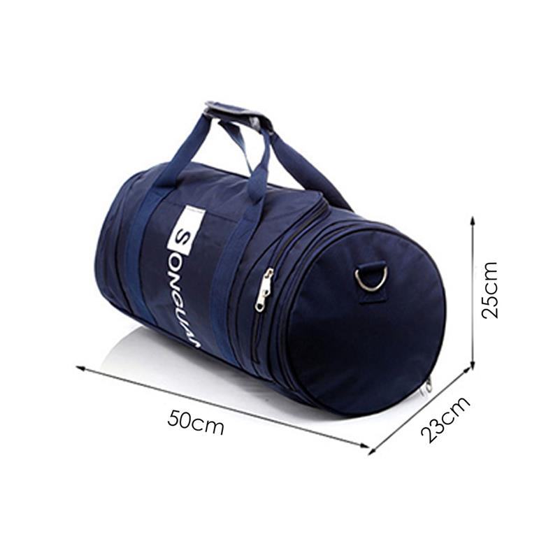 3d7bb04027a PRADO Gym Duffel Bag with Shoes Compartments Yoga Beg Sports Fitness