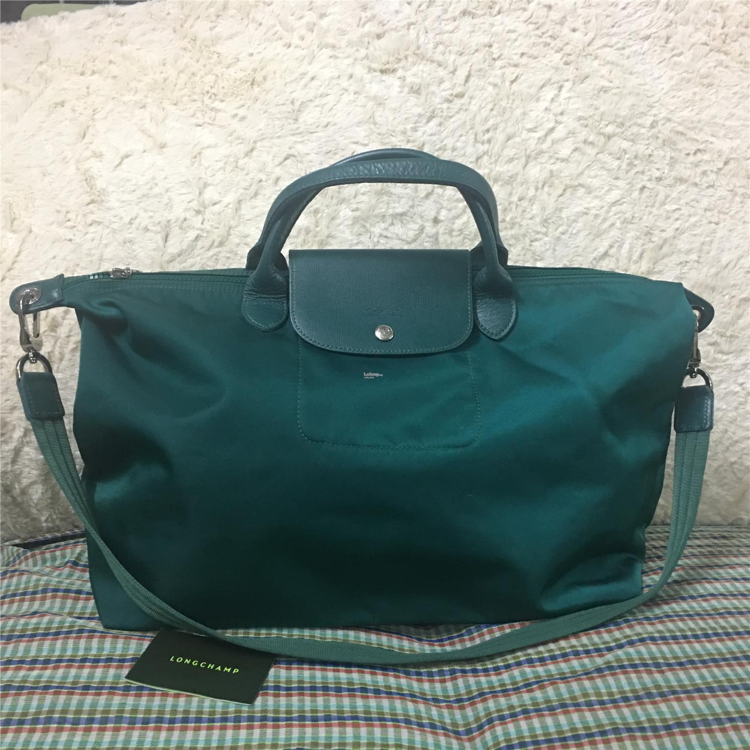 Pre Loved Longchamp Le Pliage Neo Large Nylon Tote Bag