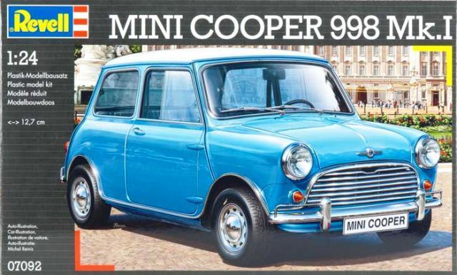 Pre Order 124 Revell Mini Cooper 9 End 11202019 525 Pm