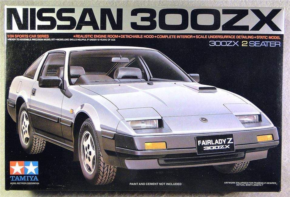 Pre Order 1:24 Tamiya Nissan 300ZX 2 Seater Plastic Model Series. U2039 U203a