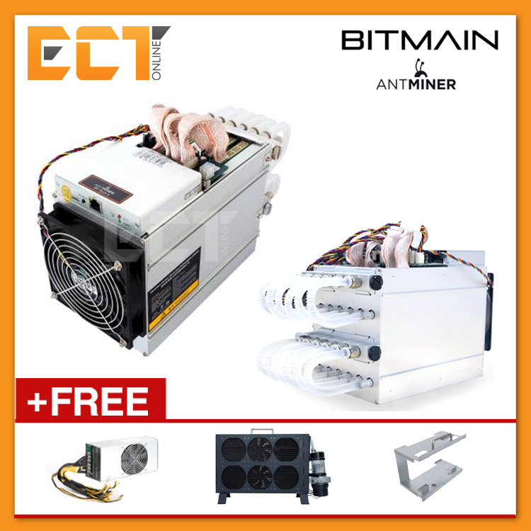 (Pre Order) Antminer S9-Hydro 18TH/s World's Most Efficient ASIC Miner FULL  SE
