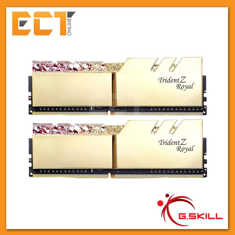 (Pre-Order) G Skill Trident Z Royal RGB 16GB (8GBx2) DDR4 3600MHz RAM