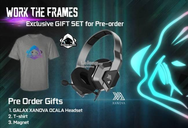 # [PRE-ORDER] : GALAX GeForce RTX 2070 Super Work The Frames Edition #