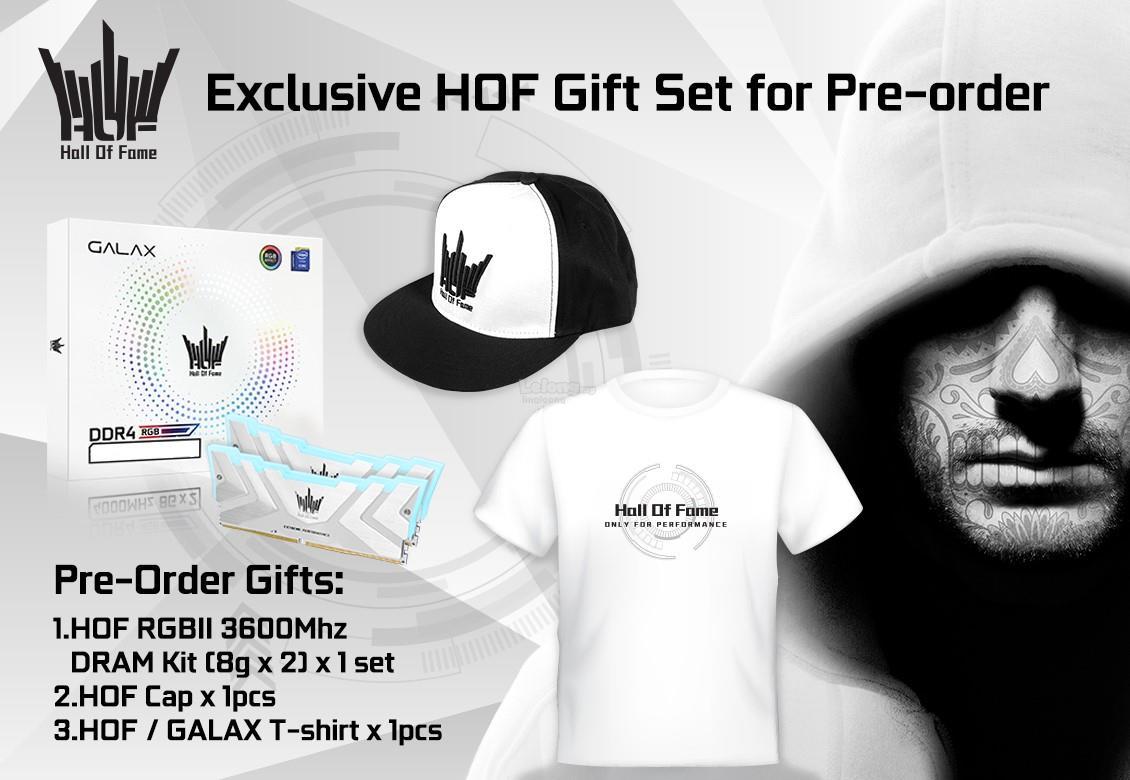 # PRE-ORDER: GALAX GeForce® RTX 2080Ti HOF 10th Anniversary Edition #