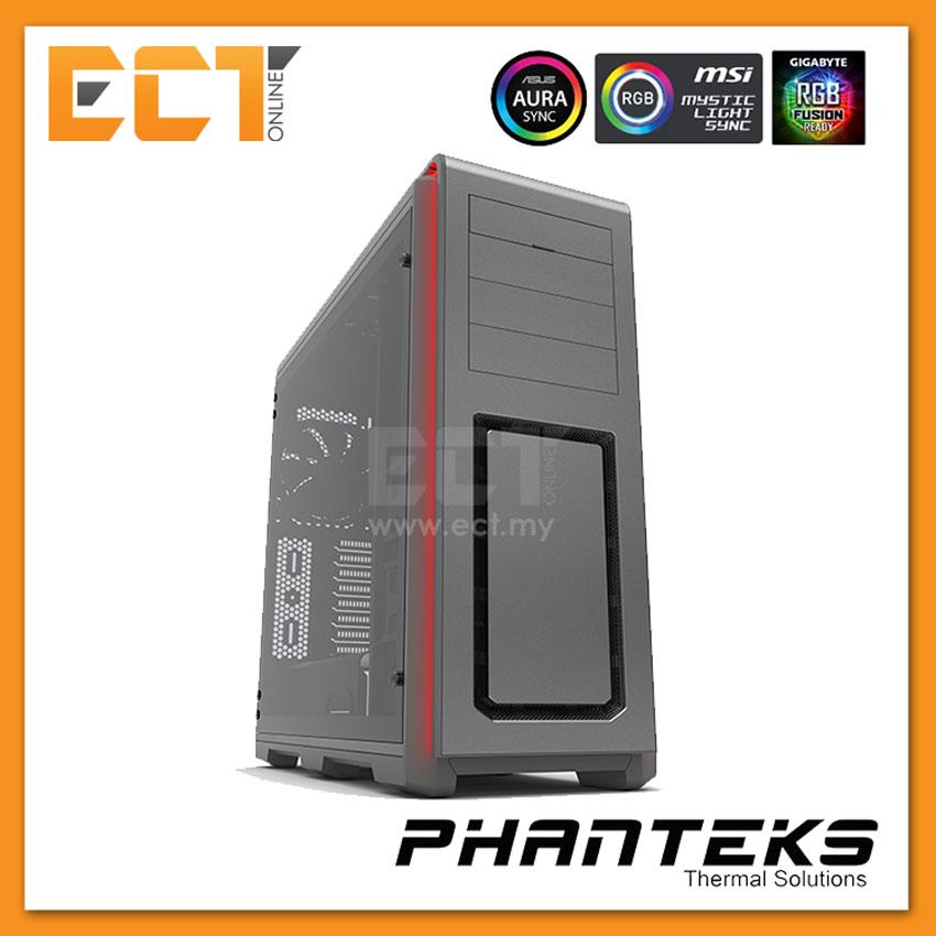 (Pre Order) Phanteks ENTHOO LUXE Tempered Glass - Grey/Black