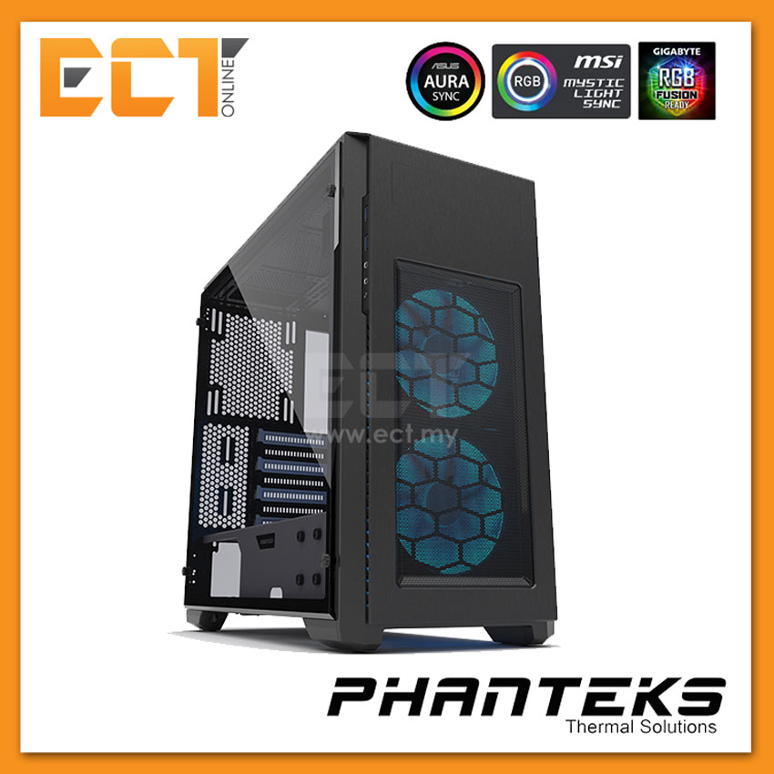(Pre Order) Phanteks ENTHOO PRO M Tempered Glass - Black+White SE(RGB)