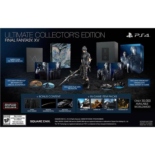 PREORDER PS FF XV ULTIMATE COLLECT End PM - Create invoice app square enix online store