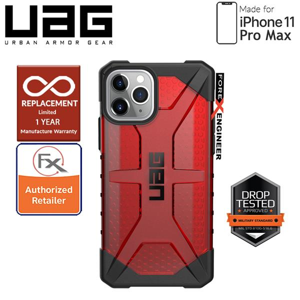 [PRE-ORDER] UAG Plasma for iPhone 11 Pro Max - Magma [ETA:17-20/9/19]