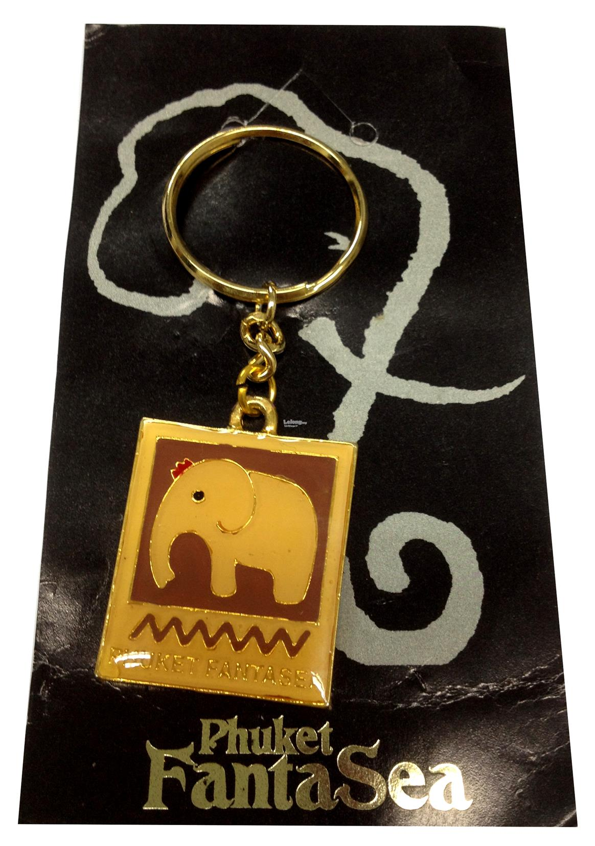 Pre-Owned - Key Chain - Phuket FantaSea - From Thailand