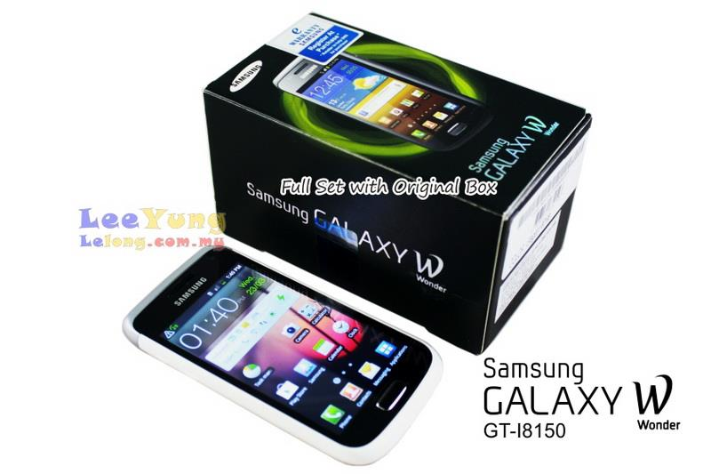 Pre-Owned Original Samsung Galaxy W GT-I8150 99% New Tiptop Condition