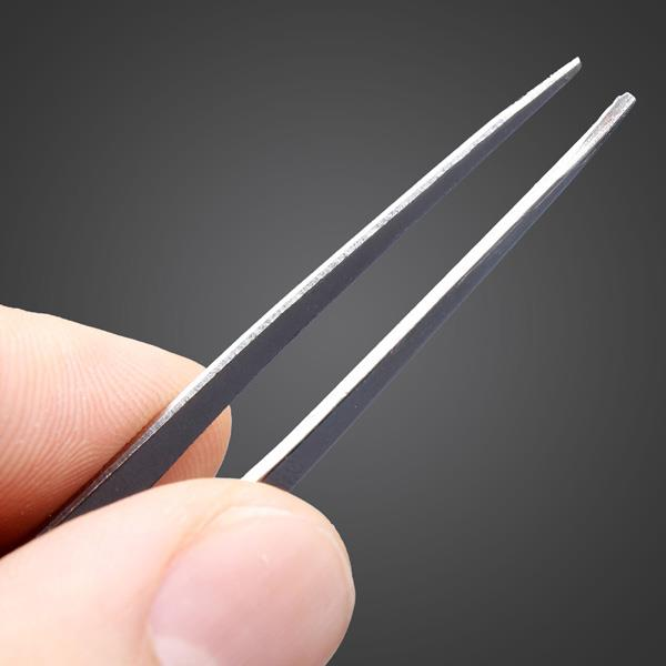 Precision Tweezer TS-11 [Perfect for Soldering PCBs & Replacing Parts]