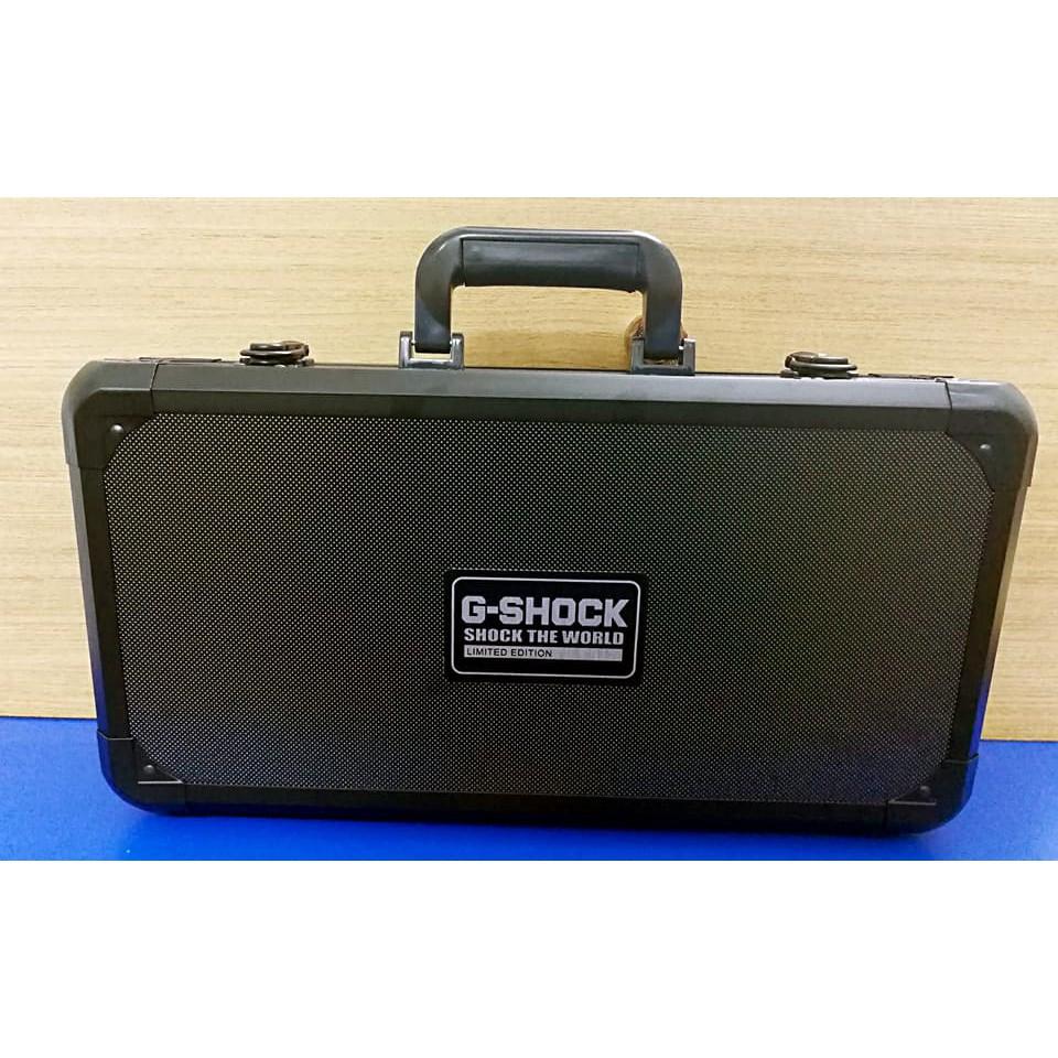 35fcbb557293 Premium Aluminium Watch Box Storage Box G-Shock Antishock With Lock