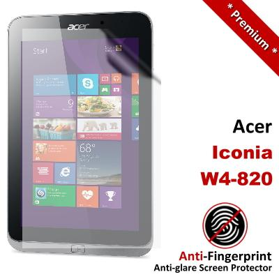 Premium Anti-Fingerprint Matte Acer Iconia W4-820 Screen Protector