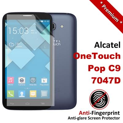 Premium Anti-Fingerprint Matte Alcatel OneTouch C9 Screen Protector