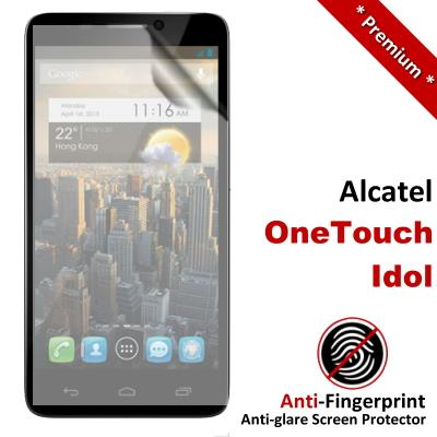 Premium Anti-Fingerprint Matte Alcatel OneTouch Idol Screen Protector