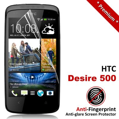 Premium Anti-Fingerprint Matte HTC Desire 500 Screen Protector