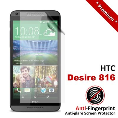 Premium Anti-Fingerprint Matte HTC Desire 816 Screen Protector
