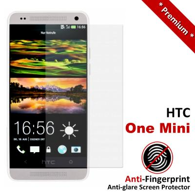 Premium Anti-Fingerprint Matte HTC One Mini Screen Protector