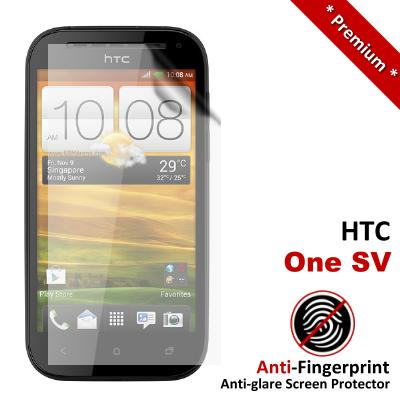 Premium Anti-Fingerprint Matte HTC One SV Screen Protector