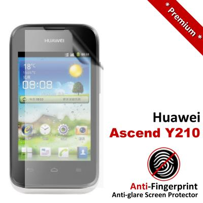 Premium Anti-Fingerprint Matte Huawei Ascend Y210 Screen Protector