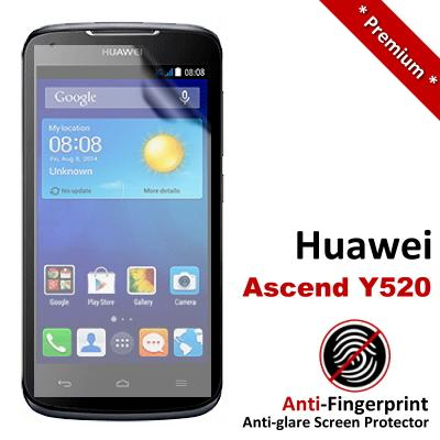 Premium Anti-Fingerprint Matte Huawei Ascend Y520 Screen Protector