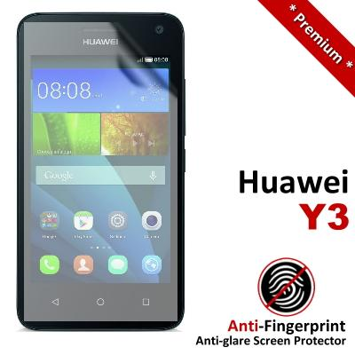 Premium Anti-Fingerprint Matte Huawei Y3 Screen Protector