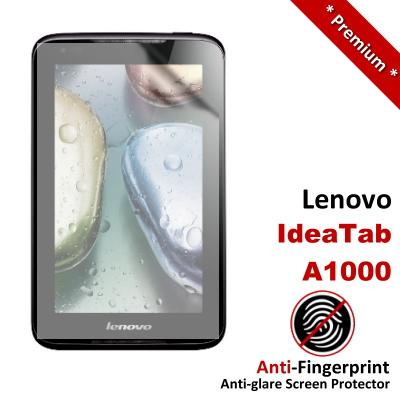 Premium Anti-Fingerprint Matte Lenovo Ideatab A1000 Screen Protector
