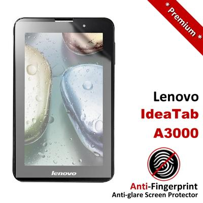 Premium Anti-Fingerprint Matte Lenovo IdeaTab A3000 Screen Protector