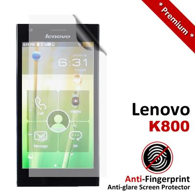 Premium Anti-Fingerprint Matte Lenovo K800 Screen Protector