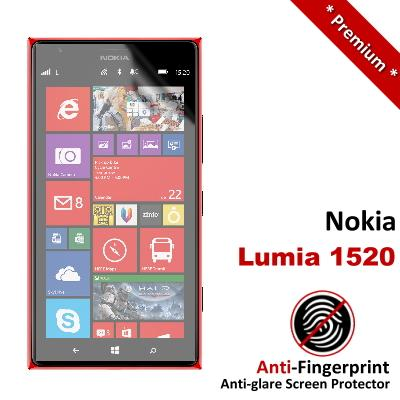 Premium Anti-Fingerprint Matte Nokia Lumia 1520 Screen Protector
