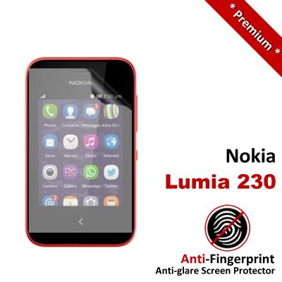 Premium Anti-Fingerprint Matte Nokia Lumia 230 Screen Protector