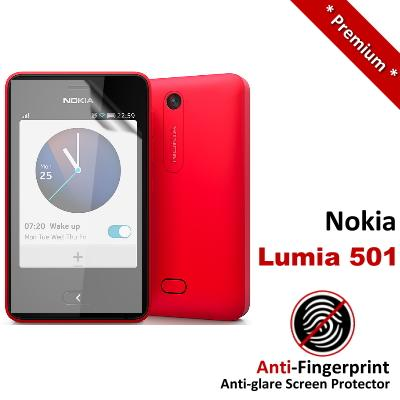 Premium Anti-Fingerprint Matte Nokia Lumia 501 Screen Protector