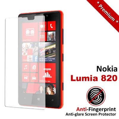 Premium Anti-Fingerprint Matte Nokia Lumia 820 Screen Protector
