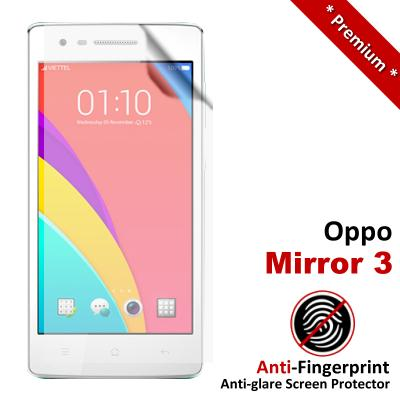 Premium Anti-Fingerprint Matte Oppo Mirror 3 Screen Protector