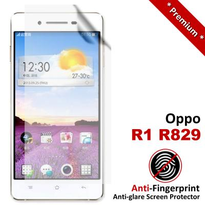 Premium Anti-Fingerprint Matte Oppo R1 R829 Screen Protector